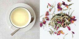 Mélanges de thé blanc