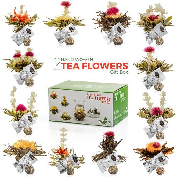 Flowering Tea Gift Box, 12pcs