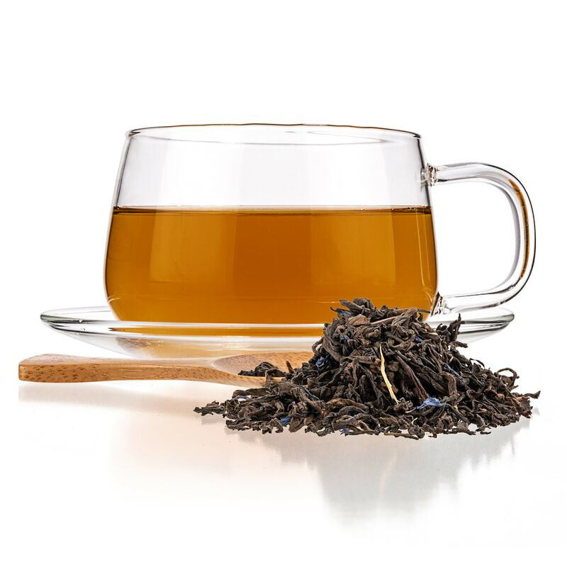citrus puerh tea